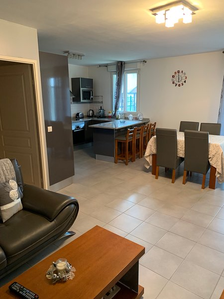 Beautiful apt with terrace & Wifi, vacation rental in Bagnolet