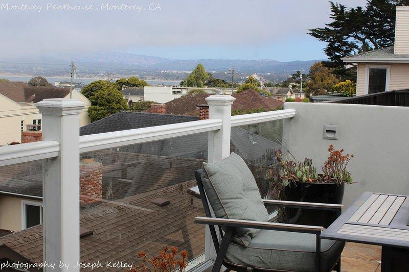 Deck at Monterey Penthouse