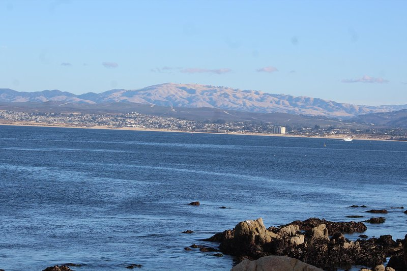 Monterey Bay from the Monterey - Pacific Grove Walking Trail