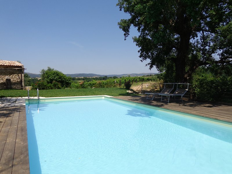 Amazing house with pool access, holiday rental in Manciano