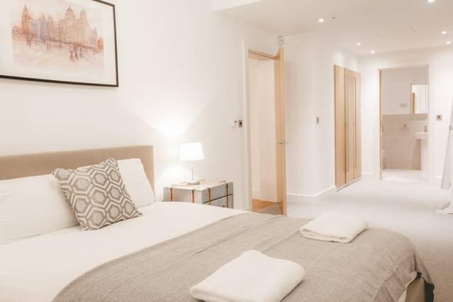 Bedroom 1 with en-suite and built in wardrobes