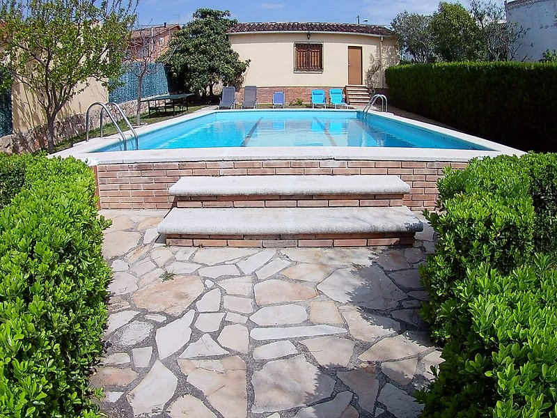 Nice villa with swimming-pool, vacation rental in L'Arboc