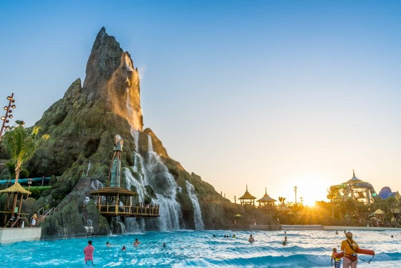 Get wet at Volcano Bay Water Park!