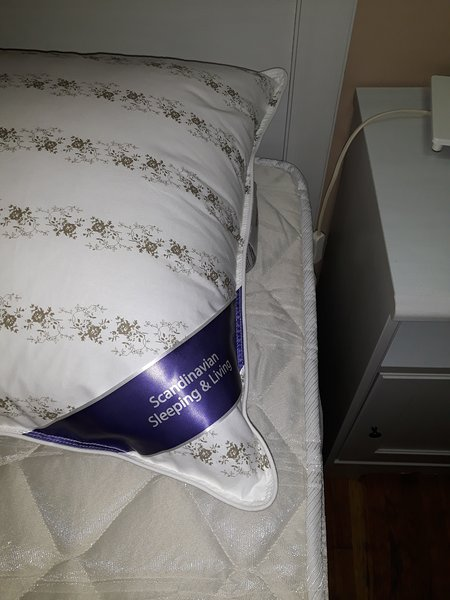 Brand new Scandinavian quality pillows, latex pocket-spring mattresses and memory foam top layers