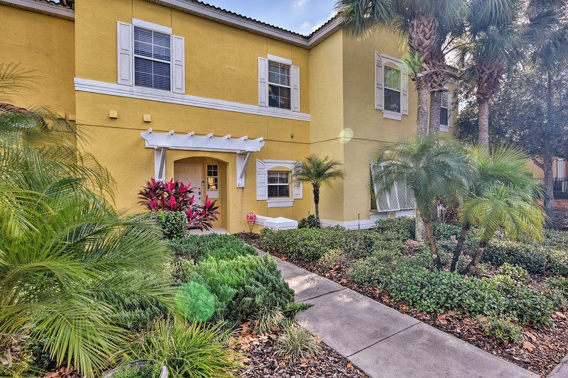 Located in Kissimmee's Encantada Resort, this home is minutes from Disney Parks.