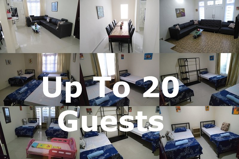 2 Connecting Apartments Nagoya Batam - For large groups, vacation rental in Batam