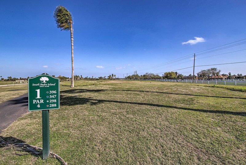 Pour un supplément, consultez le South Padre Island Golf Club!