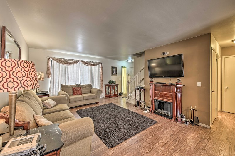 Experience Milwaukee from this inviting vacation rental condo.
