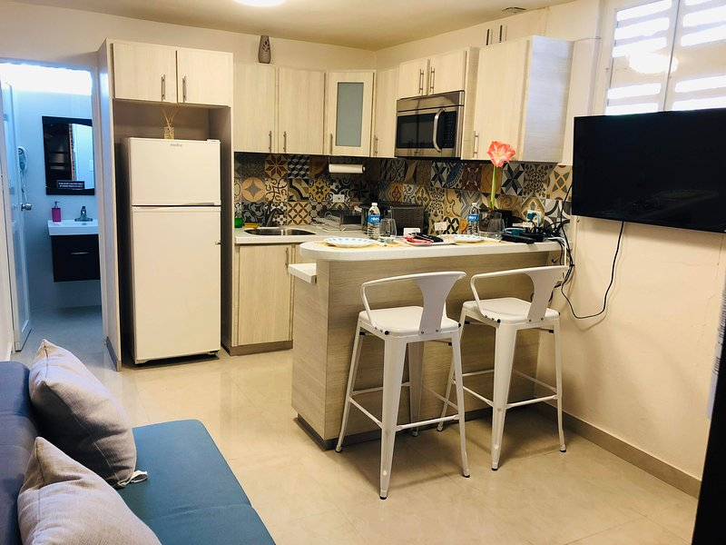 Lovely apartment remodeled with laundry, parking & pet friendly, holiday rental in Ponce