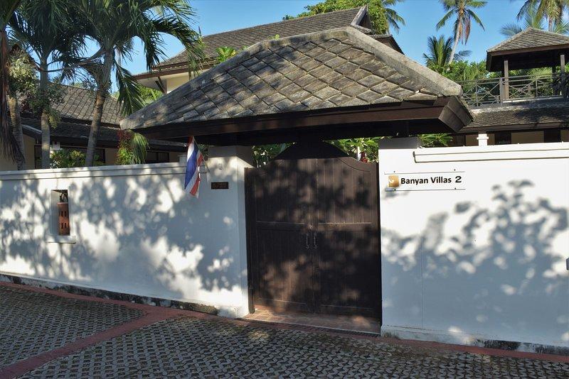 Banyan Villa 2 Entrance