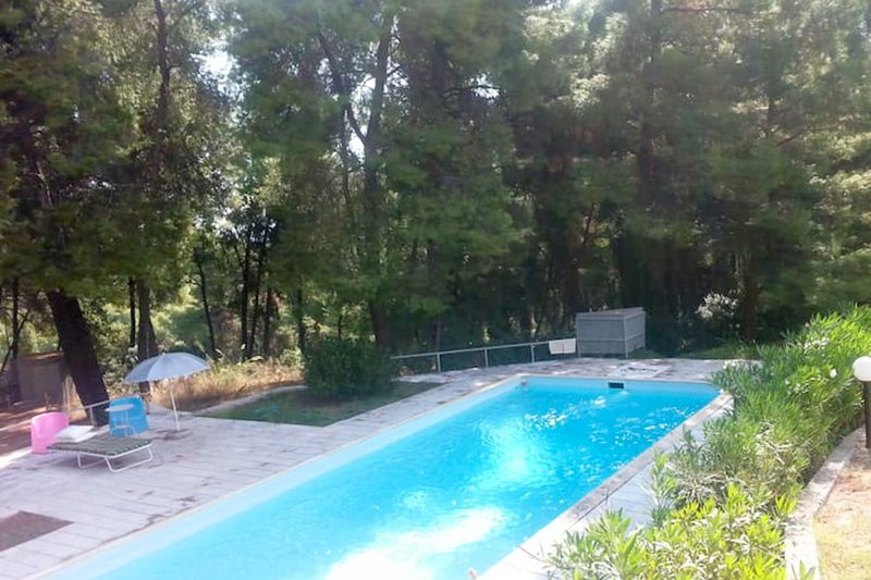 Aproveite a piscina compartilhada