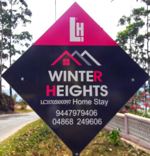Winter heights munnar is ready to make a pleasant stay