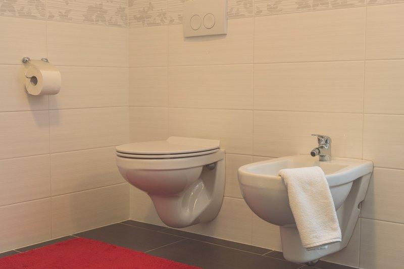 Badkamer (toilet en bidet)