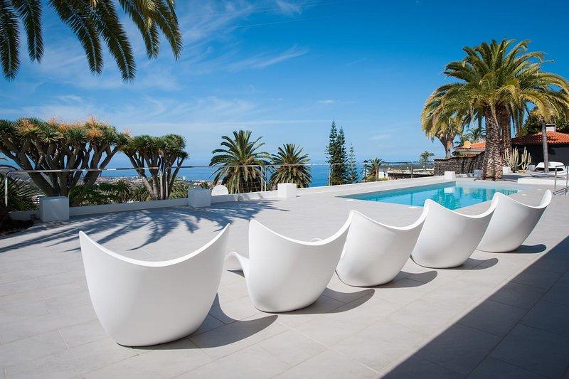 Casa El Balcon Grande: Simplicity | Luxury all in one, views and nature, holiday rental in Cuesta de la Villa