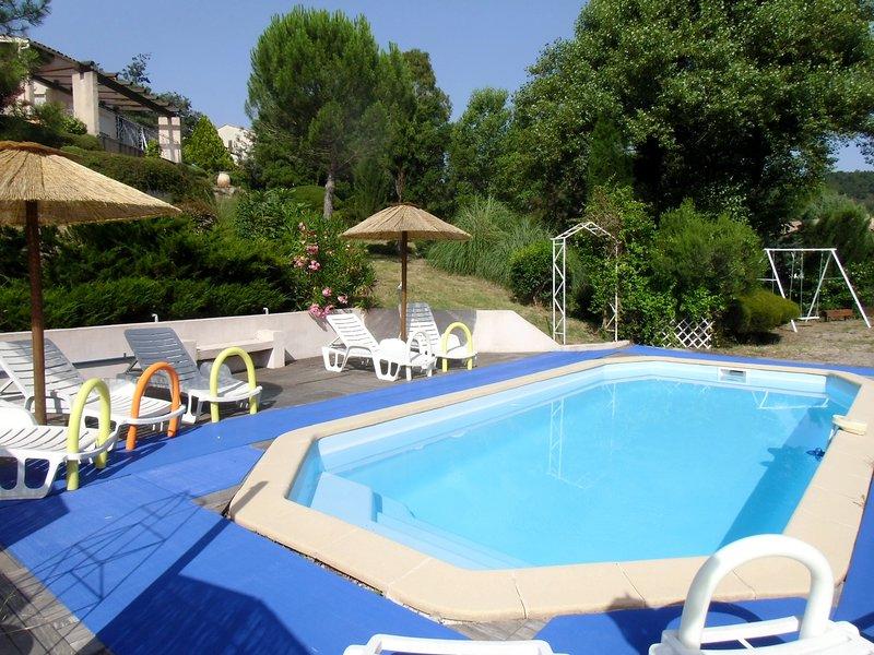 Gite les Lavandes Appartement 2- 4 personnes lac de st cassien 15mn de Cannes, location de vacances à Montauroux