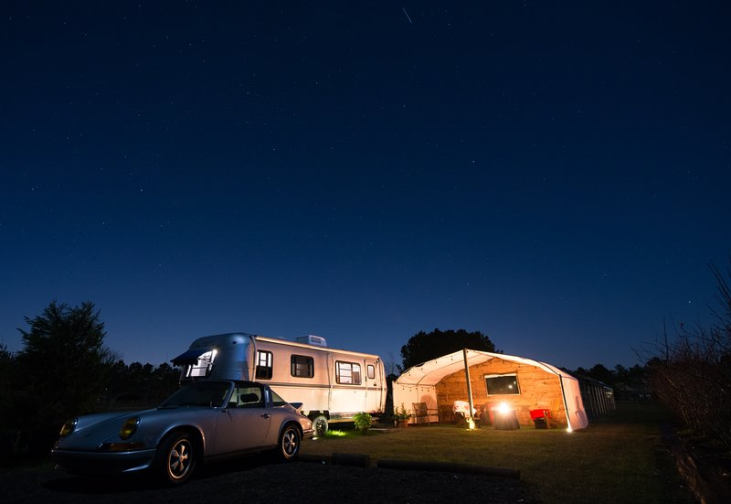 Vintage Silver Bullet Aluminum Camper with modern Flair, vacation rental in Point Clear