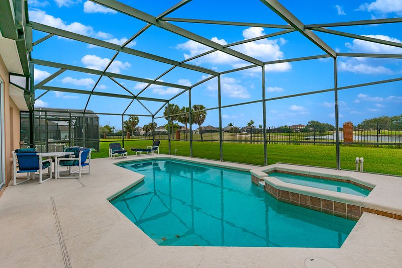 Beautiful golf course view, pool home 640, vacation rental in Saint Cloud