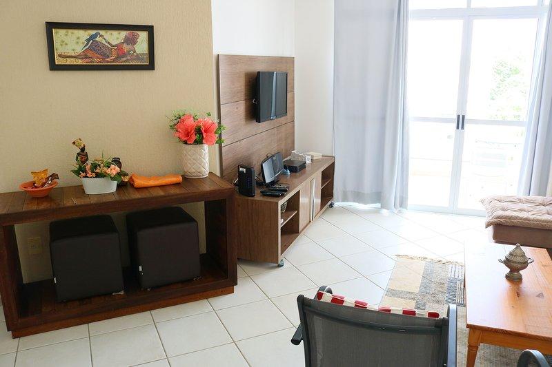 No Coração de Jurerê - Lindo apartamento na praia de Jurerê em Florianópolis, id, location de vacances à Governador Celso Ramos