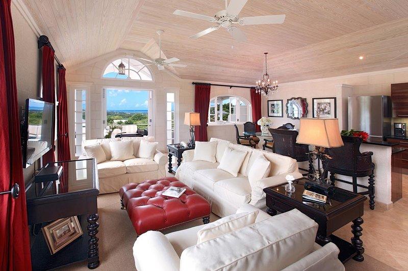 Gorgeous open plan living area
