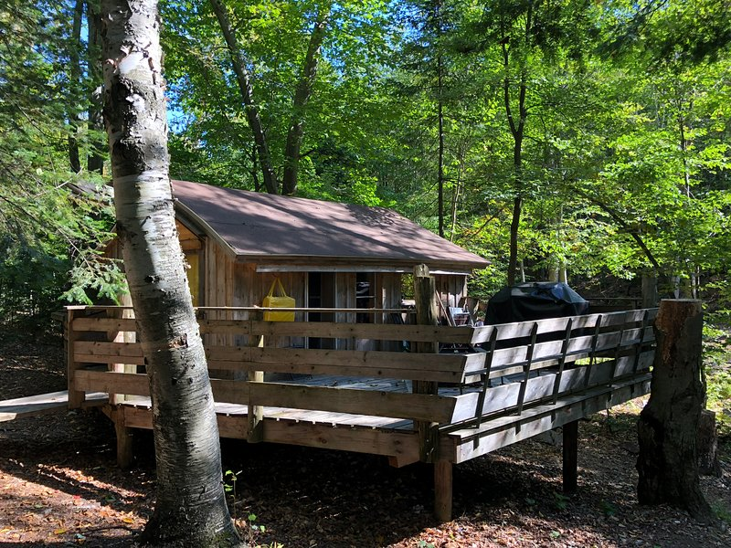 Centre de Vacances Insolite Eclectic Treehouse Resort # MOJITO, holiday rental in Morin Heights