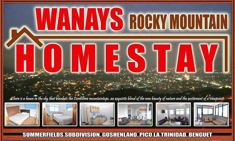Wanay's Rocky Mountain Homestay, alquiler vacacional en Benguet Province