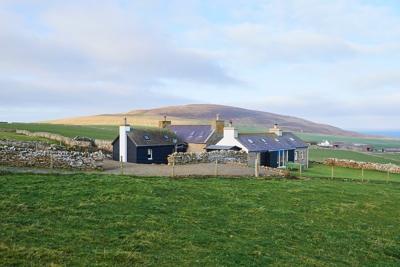 Middle Midhouse Cottage, Evie, Orkney, Ferienwohnung in Evie