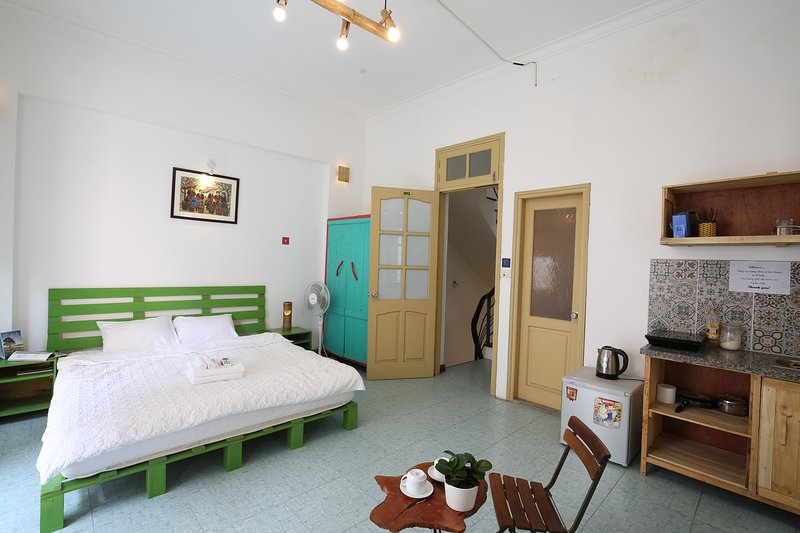 Double bedroom with large balcony and plenty of natural light