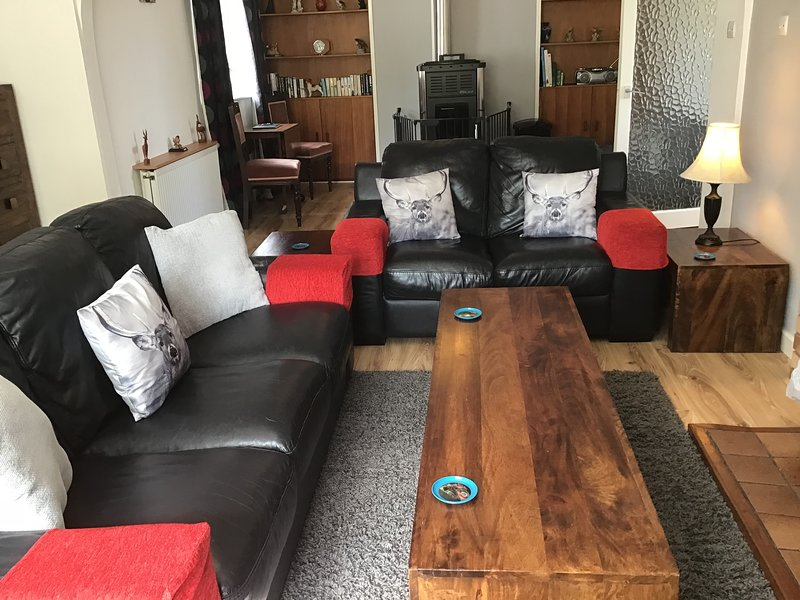 Living area for five people
