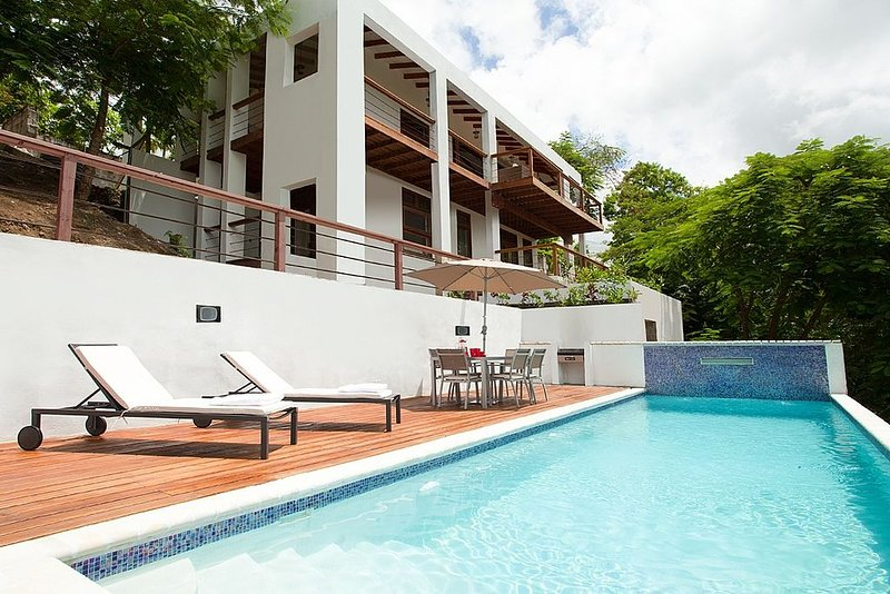The White Turtle, Private Villa Rental,  Marigot Bay, St Lucia, aluguéis de temporada em Marigot Bay