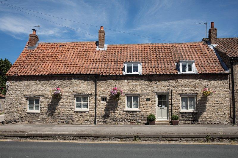 Longère traditionnelle du XVIIe siècle, telle que présentée dans «Les maisons des North York Moors»