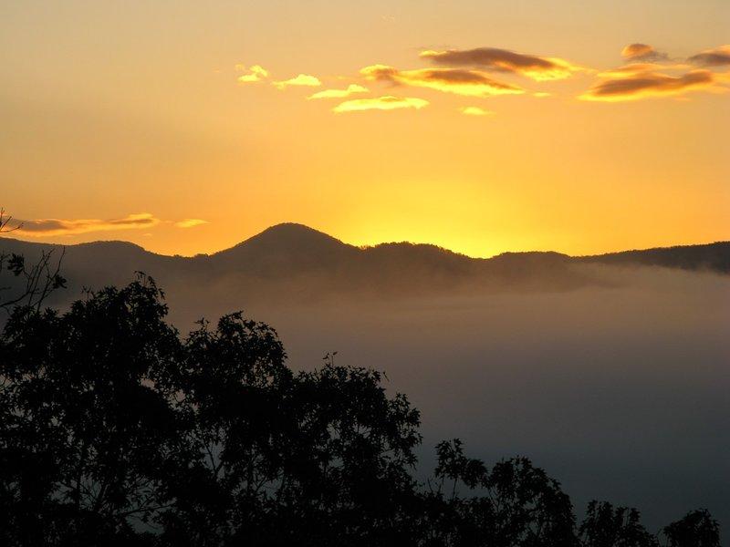 Our Dawn Vista View depuis le porche couvert de notre cabine