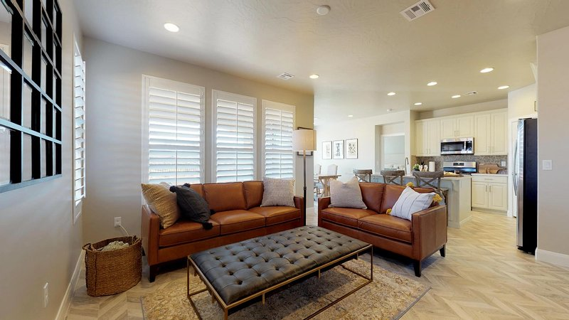 Family room featuring comfortable seating