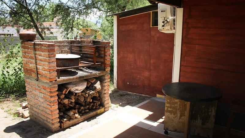 Neste churrasco, assados inesquecíveis são feitos. Surpreenda seus convidados ... e você. hahaha