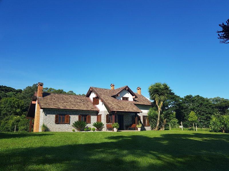 Casa de Campo no Vale dos Vinhedos, casa vacanza a Farroupilha