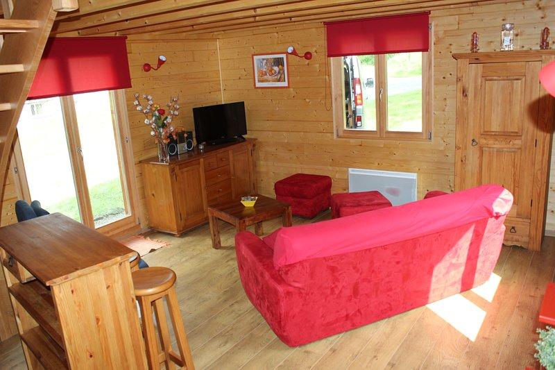 Chalet de montagne 3* tout confort -calme et repos - 6pers.+1bébé, holiday rental in Ventron