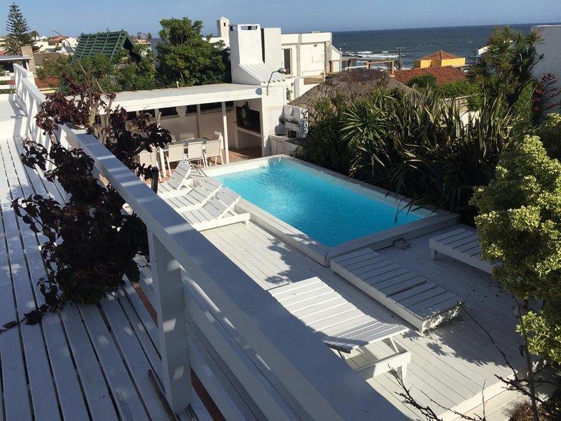 La Barra, 4 suites vista mar, parrillero,, alquiler de vacaciones en La Barra