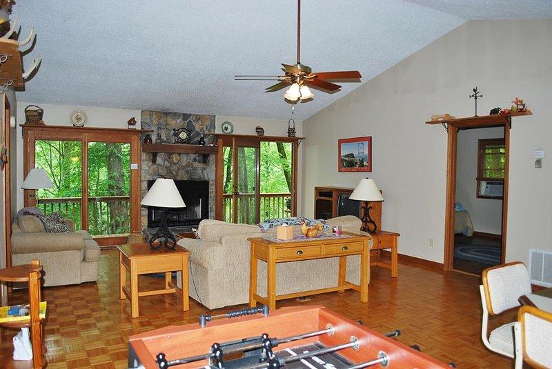 Living Room w/Foosball Table