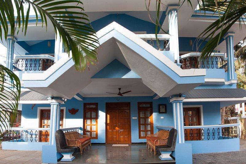 Villa Calangute Phase 1- à seulement 2 minutes à pied de la plage de Calangute