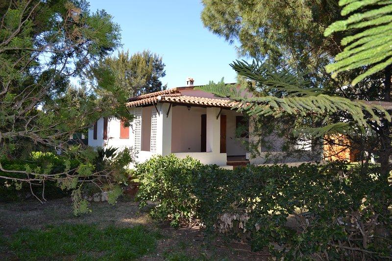 Villa a 50 metri dalla spiaggia, location de vacances à Capitana