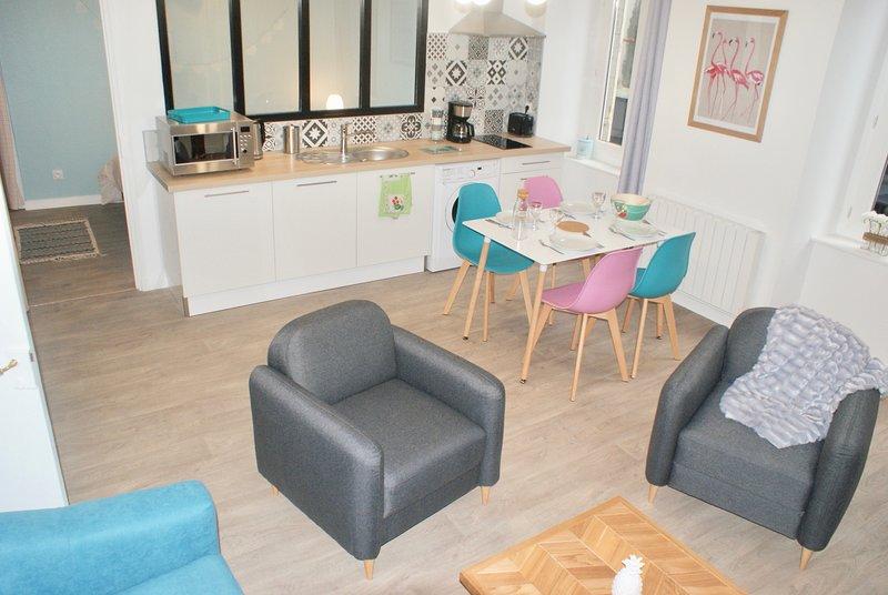 Appartement*  'Lady stil' au coeur du centre ville, vacation rental in Saint-Brieuc