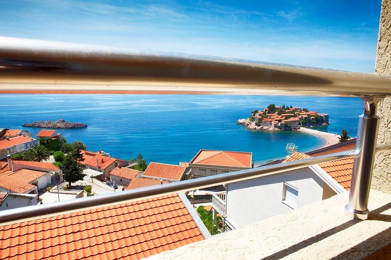 View on Sveti Stefan :)
