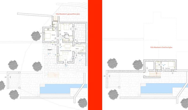 Villa Mandarin's floor plans