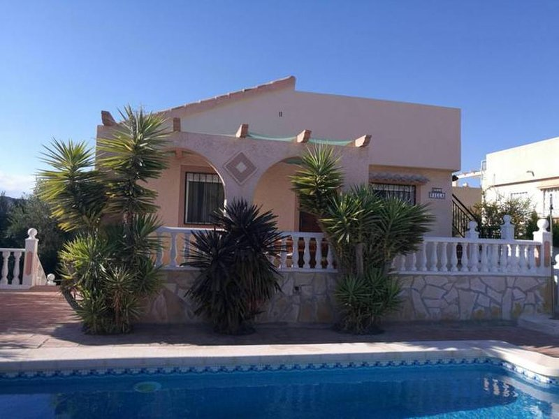Ref D1728 2 bed Rosa with Private Pool, vacation rental in Mazarron