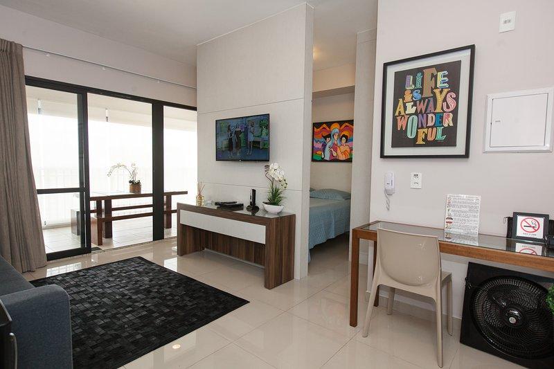 Apartamento com linda vista!, Ferienwohnung in São Paulo