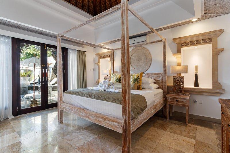 Slaapkamer 1, Kingsize bed
