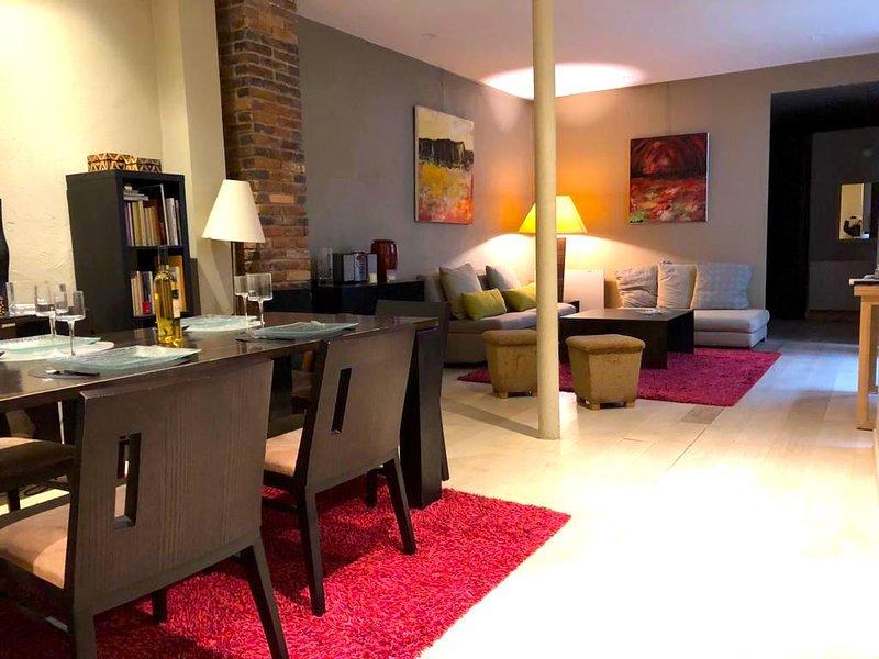Chapon loft - sala de estar