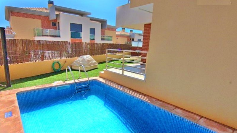 Pool and Garden Area