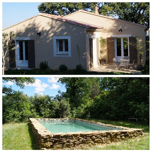 Maison avec piscine privée proximité village, holiday rental in Codolet