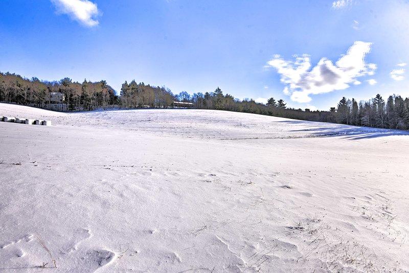 Esta casa es un verdadero paraíso invernal!