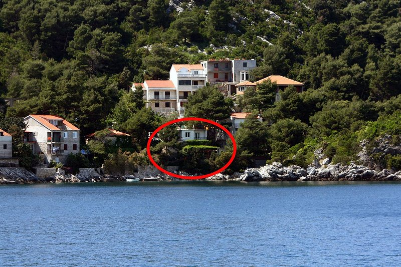Two bedroom apartment Sobra, Mljet (A-4936-b), holiday rental in Sobra